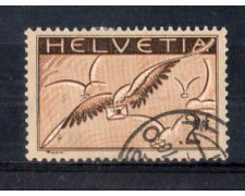 1929 - LOTTO/SVIA15U - SVIZZERA - 2 Fr. POSTA AEREA - USATO