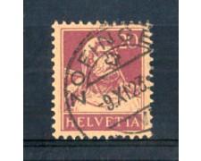 1916 - LOTTO/SVI162U - SVIZZERA - 20c. LILLA SU CAMOSCIO - USATO