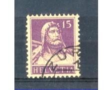 1914 - LOTTO/SVI141U - SVIZZERA - 15c. VIOLETTO - USATO