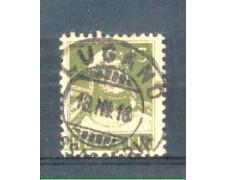 1914 - LOTTO/SVI140U - SVIZZERA - 13c. VERDE OLIVA - USATO