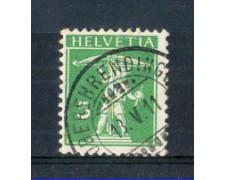 1910 - LOTTO/SVI136U - SVIZZERA - 5c. VERDE - USATO