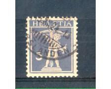 1910 - LOTTO/SVI135U - SVIZZERA - 3c. VIOLETTO SCURO - USATO