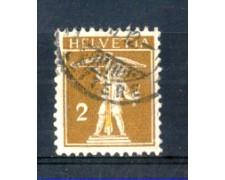 1910 - LOTTO/SVI134U - SVIZZERA - 2c. BISTRO OLIVA - USATO