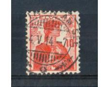 1909 - LOTTO/SVI131U - SVIZZERA - 10c. ROSSO - USATO