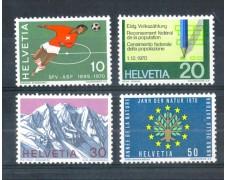 1970 - LOTTO/SVI867CPN - SVIZZERA - PROPAGANDA 4v. - NUOVI