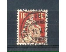 1908 - LOTTO/SVI126U - SVIZZERA - 1 Fr. CARMINIO - USATO