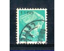 1935 - LOTTO/SVIFR13ABU - SVIZZERA - 5c. FRANCHIGIA - USATO