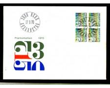 1970 - LOTTO/SVI862FDC - SVIZZERA - 20c. CIFRA - BUSTA FDC