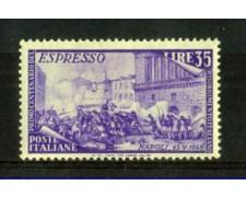 1948 - LOTTO/6065N - REPUBBLICA - 35 LIRE ESPRESSO RISORGIMENTO - NUOVO