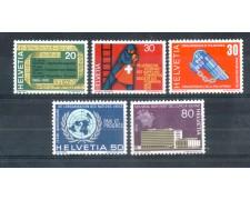 1970 - LOTTO/SVI854CPN - SVIZZERA - PROPAGANDA 5v. - NUOVI