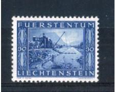1943 - LOTTO/LIE194N - LIECHTENSTEIN - 30r. COMPLETAMENTO CANALE - NUOVO