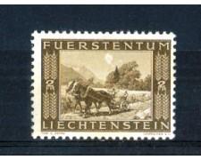 1943 - LOTTO/LIE196N - LIECHTENSTEIN - 2 Fr. COMPLETAMENTO CANALE - NUOVO