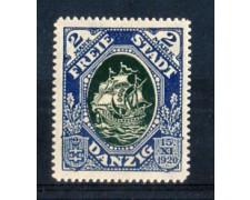 1921 - LOTTO/DANZ53L - DANZICA - 2 M. COSTITUZIONE - LING.