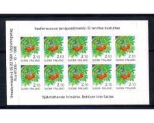 1991 - LOTTO/FINL1095MFN - FINLANDIA - 2,10 SORBO FOGLIETTO - NUOVO
