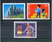 1969 - LOTTO/SVI840CPN - SVIZZERA - PROPAGANDA 3v. - NUOVI