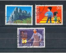 1969 - LOTTO/SVI840CPU - SVIZZERA - PROPAGANDA 3v. - USATI