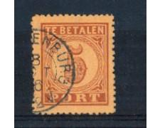 1870 - LBF/2652 - OLANDA - SEGNATASSE  5c. BRUNO ARANCIO - USATO