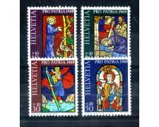 1969 - LOTTO/SVI837CPN - SVIZZERA - PRO PATRIA 4v. - NUOVI