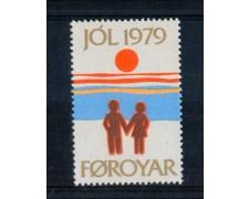 1979 - LOTTO/3296 - FAEROER -  CHIUDILETTERA DI NATALE - NUOVO