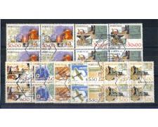 1980 - LOTTO/POR1457CPUQ - PORTOGALLO - STRUMENTI DI LAVORO 8v. - QUARTINE  USATE