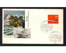 1965 - LOTTO/1639 - GERMANIA - CENTENARIO SERVIZI DI SALVATAGGIO IN MARE - BUSTA