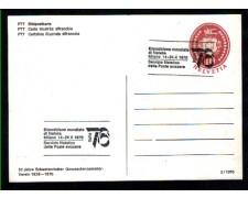 1976 - LOTTO/10447 - SVIZZERA - CARTOLINA UFFICIALE  DELL'ESPOSIZIONE ITALIA 76