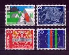 1969 - LOTTO/SVI831CPN - SVIZZERA - PROPAGANDA 4v. - NUOVI