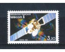 1984 - LOTTO/FRA2326N - FRANCIA - 3,20 Fr. SATELLITE TELECOM - NUOVO