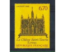 1995 - LOTTO/FRA2912N - FRANCIA - 6,70 Fr. RELIQUIARIO DI S.TAURIN - NUOVO