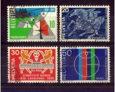 1969 - LOTTO/SVI831CPU - SVIZZERA - PROPAGANDA 4v. - USATI