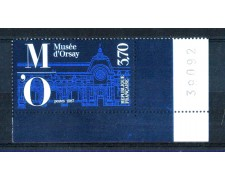 1986 - LOTTO/FRA2448N - FRANCIA - 3,70 Fr. MUSEO D'ORSAY - NUOVO