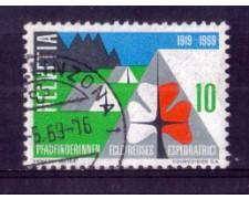 1969 - LOTTO/SVI828U - 10c. ESPLORATRICI - USATO