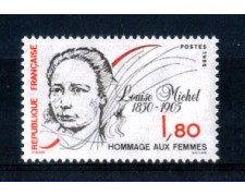 1986 - LOTTO/FRA2407N - FRANCIA - 1,80 Fr. LOUISE MICHEL - NUOVO