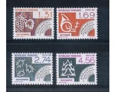 1987 - LOTTO/FRAP197CPN - FRANCIA - MESI DELL'ANNO 4v. - NUOVI