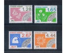 1986 - LOTTO/FRAP193CPN - FRANCIA - PREANNULLATI MESI DELL'ANNO 4v. - NUOVI
