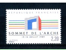 1989 - LOTTO/FRA2592N - 2,20 Fr. VERTICE PAESI INDUSTRIALIZZATI - NUOVO