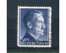 1941 - LOTTO/GER726U - GERMANIA REICH - 5 Rm.EFFIGIE DI HITLER - USATO