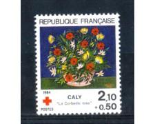 1984 - LOTTO/FRA2345N - FRANCIA - PRO CROCE ROSSA - NUOVO