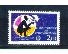 1983 - LOTTO/FRA2268N - FRANCIA - ANNO DELLE COMUNICAZIONI - NUOVO