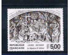 1988 - LOTTO/FRA2547N - FRANCIA - 5 Fr. SCULTURA DI LIEGIER RICHIER - NUOVO