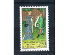 1991 - LOTTO/FRA2698N - FRANCIA - 2,50 Fr. GASTON DE FOIX - NUOVO