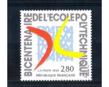 1994 - LOTTO/FRA2853N - FRANCIA - SCUOLA POLITECNICA - NUOVO