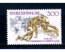 1987 - LOTTO/FRA2482N - FRANCIA - CAMPIONATO DI LOTTA - NUOVO