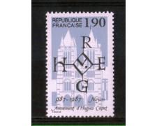 1987 - LOTTO/FRA2476N - FRANCIA - MILLENARIO DI UGO CAPETO - NUOVO