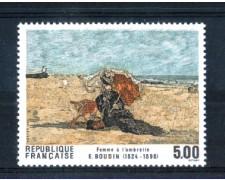 1987 - LOTTO/FRA2472N - FRANCIA - 5 Fr. QUADRO DI EUGENE BOUDIN - NUOVO