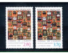 1994 - LOTTO/FRAS113CPN - FRANCIA - CONSIGLIO D'EUROPA 2v. - NUOVI