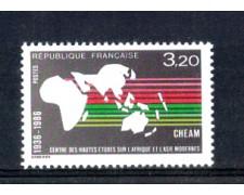 1986 - LOTTO/FRA2411N - FRANCIA - CENTRO STUDI AFRICA E ASIA - NUOVO