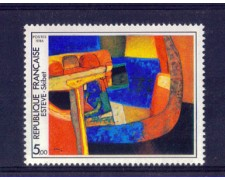 1986 - LOTTO/FRA2412N - FRANCIA - 5 Fr. QUADRO DI MAURICE ESTEVE - NUOVO