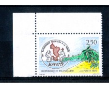 1991 - LOTTO/FRA2725N - FRANCIA - 150° ANNESSIONE MAYOTTE - NUOVO