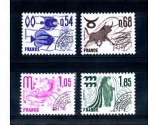 1977 - LOTTO/FRAP149CPN - FRANCIA - PREANNULLATI ZODIACO 4v. - NUOVI